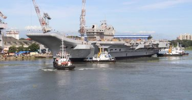 INS VIKRANT – INDIA'S FIRST INDIGINEOUS CARRIER READY FOR BASIN TRIALS